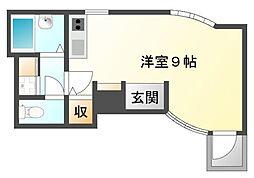 カルム香川[3階]の間取り