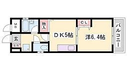 NTハイツ[5階]の間取り