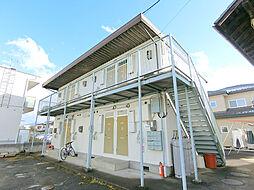 長野県長野市若里4丁目の賃貸アパートの外観