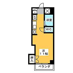 CASA本郷[8階]の間取り