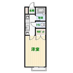 セ・パラン210A[0207号室]の間取り