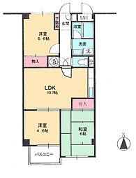 マンション(朝霞台駅から徒歩12分、3LDK、1,730万円)