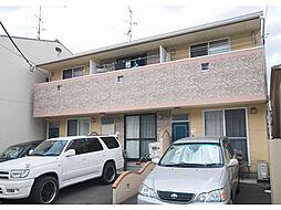 愛媛県松山市永木町1丁目の賃貸アパートの外観
