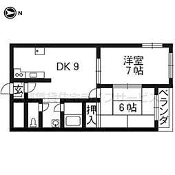 メゾン綾小路[3階]の間取り