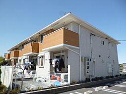 東京都あきる野市野辺の賃貸アパートの外観