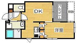 レイリオン[2階]の間取り