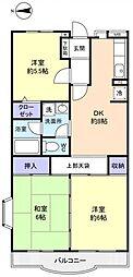 クレール25[4階]の間取り