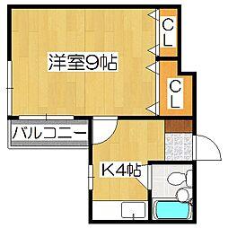 第二正美堂ビル[8階]の間取り