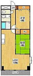 グランドシティ西宮2[3B号室]の間取り