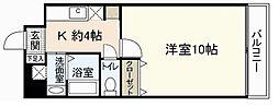 ウイングビル[3階]の間取り