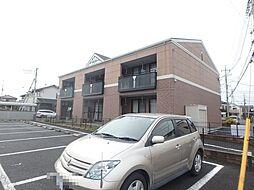 埼玉県上尾市小泉3丁目の賃貸アパートの外観