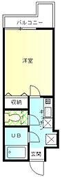 アーブ上大岡[1階]の間取り