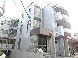 埼玉県川口市鳩ヶ谷本町4丁目の賃貸マンションの外観