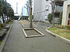 敷地内に公園があります。