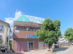 兵庫県川西市向陽台3丁目の賃貸マンションの外観