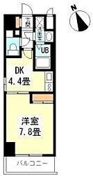大阪府大阪市中央区久太郎町3丁目の賃貸マンションの間取り