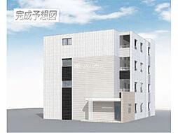 埼玉県上尾市原市の賃貸マンションの外観