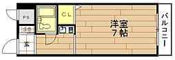 ライオンズマンション野田[2階]の間取り
