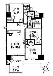 サンメゾン守口ミンスターコート[2階]の間取り