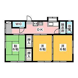 [一戸建] 静岡県袋井市久能 の賃貸【/】の間取り