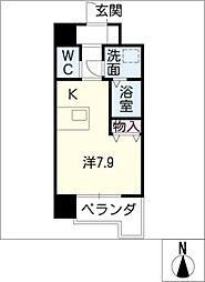 ソアレシバタ[3階]の間取り