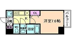 アクアプレイス福島EYE[8階]の間取り