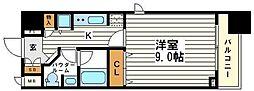 カスタリア堺筋本町[11階]の間取り