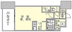 エンクレスト博多駅南SHARE[2階]の間取り