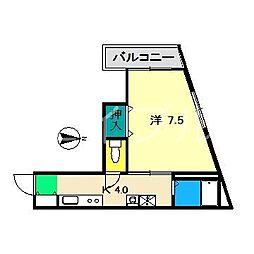 MEISON AYUMI[3階]の間取り