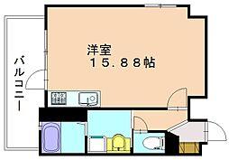 アメニティコート篠栗駅前[2階]の間取り