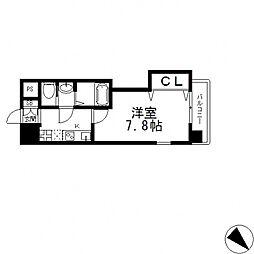 Luxe布施北II(ラグゼ)[601号室号室]の間取り