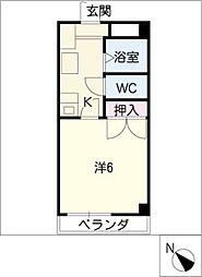 JMオオダカ[2階]の間取り
