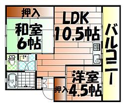 大塚第一ビル[102号室]の間取り