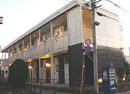 東京都福生市加美平1丁目の賃貸アパートの外観