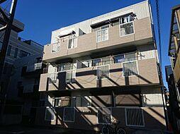 東京都北区王子3の賃貸アパートの外観