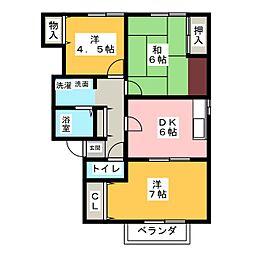 東京[2階]の間取り
