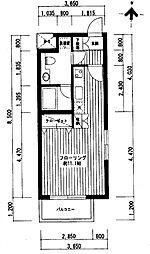 広尾レジデンスA棟[2階]の間取り