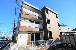 千葉県習志野市藤崎6の賃貸アパートの外観