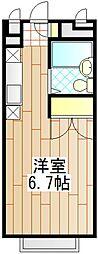 エステートピアDAIGO[2階]の間取り