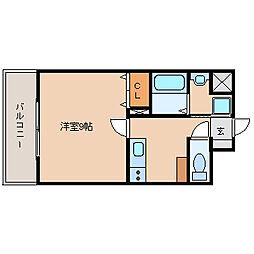 兵庫県尼崎市潮江5丁目の賃貸マンションの間取り