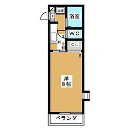 シャルマンコート[2階]の間取り