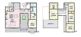 建物参考プラン:間取り/5LDK