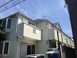 東京都北区西が丘1丁目の賃貸アパートの外観