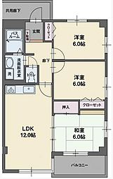 RYU-SUI S[1階]の間取り