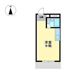 五大ビル[4階]の間取り