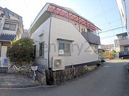 兵庫県川西市鼓が滝1丁目の賃貸マンションの外観