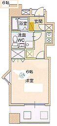サングレートESAKA2[2階]の間取り