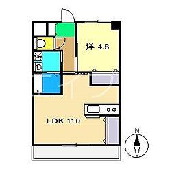 Bクイック[1階]の間取り