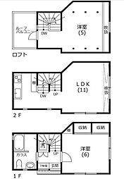 [一戸建] 東京都文京区千石4丁目 の賃貸【/】の間取り