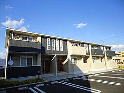 山梨県甲府市小瀬町の賃貸アパートの外観